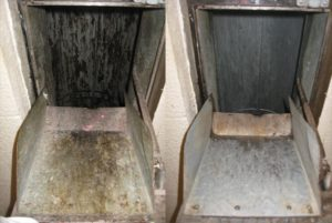 Trash Chute Cleaning